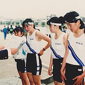 1988年4月  お花見レガッタ (埼玉・戸田)