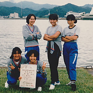 1988年9月  国民体育大会 (京都・舞鶴)