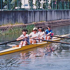 1989年5月  朝日レガッタ (滋賀・琵琶湖)