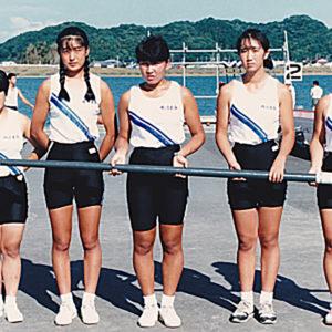 1990年9月  国民体育大会 (福岡・遠賀川)