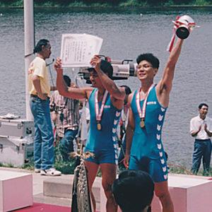 1995年6月  全日本選手権 (埼玉・戸田)