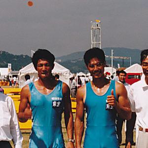 1996年9月  国民体育大会 (広島・福山)