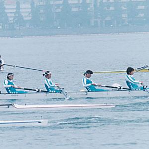 1997年5月  朝日レガッタ (滋賀・琵琶湖)