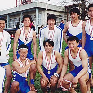 2001年4月  お花見レガッタ(埼玉・戸田)