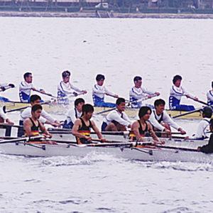 2001年5月  朝日レガッタ(滋賀・琵琶湖)