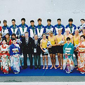 2001年5月  東アジア大会 (大阪・浜寺)