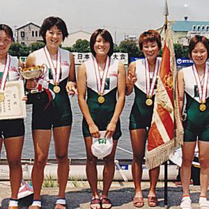 2001年6月  全日本選手権 (埼玉・戸田)