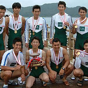 2003年7月 全日本社会人選手権 (福井・久々子湖)