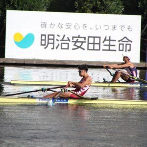 全日本選手権大会 男子シングルスカル 3位 大河原敦史